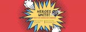 Heroes Unite - A Fundraiser to Vanquish Cancer
