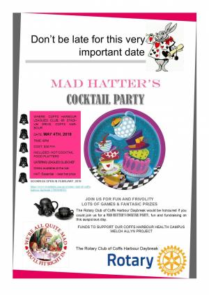 MAD HATTERS COCKTAIL PARTY