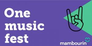 One music festival - lets celebrate inclusion