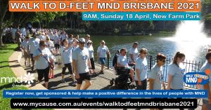 Apr 18 Walk to D:Feet MND Brisbane