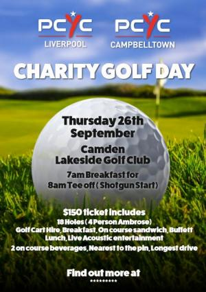 PCYC Charity GOLF DAY