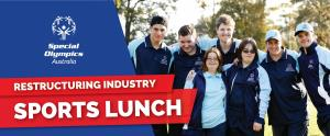 Sports Lunch for Special Olympics Australia