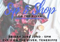 Sip & Shop on the river