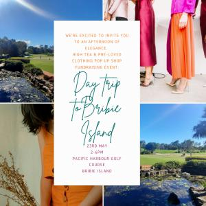 High Tea and Pre:loved Clothing Pop Up Shop Fundraising Even