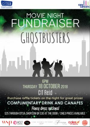 Movie Night with Ghostbusters for Rare Cancers Australia