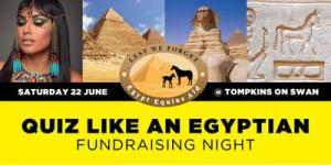 Quiz Like An Egyptian Fundraising Night