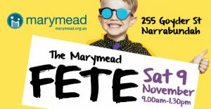 Nov 09 Marymead Annual Fete