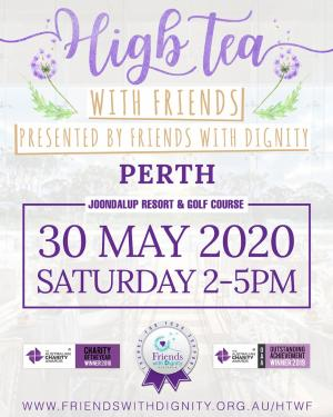 High Tea With Friends : Perth 2020