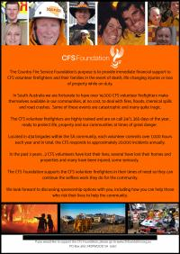 Soul of South Australia, CFS Fundraiser