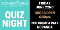 Connections Counselling WA Quiz Night 2018
