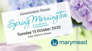 Oct 13 Marymeads Government House Spring Morning Tea