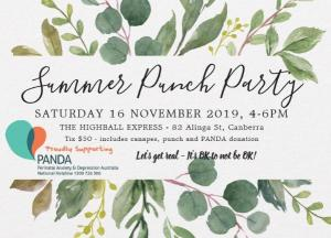 Summer Punch Party