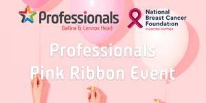 Professionals Pink Ribbon Event: After-work drinks, nibbles, raffles & more
