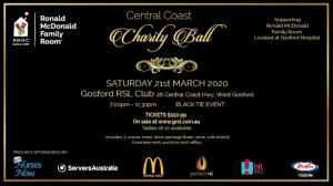 Central Coast Charity Ball Ronald McDonald Family Rooms