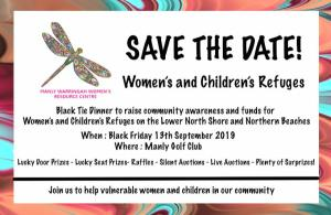 Gala Dinner for our Women & Childrens Refuges