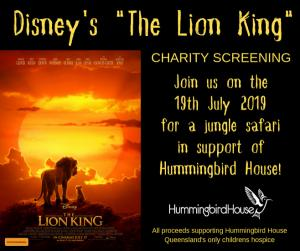 Charity Screening of Disneys The Lion King