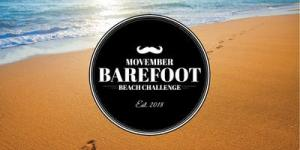 The Movember Barefoot Beach Challenge