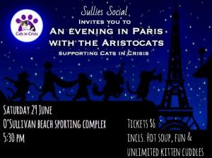An evening in Paris with the Aristocats