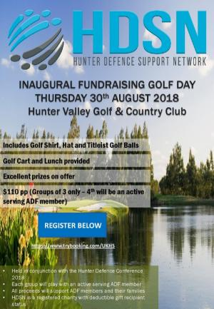 HDSN Inaugural Fundraiser Golf Day