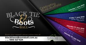 Black Tie & Boots Ball - Perth
