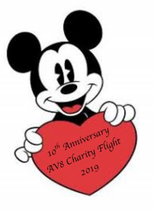 AV8 10th Anniversary Charity Flight 2019