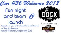 Car #36 Welcome Fundraiser for Dunga