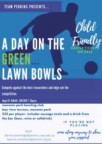 A DAY ON THE GREEN LAWN BOWLS Fundraiser for Walk for Womens Cancer