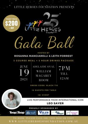 Jun 19 Little Heroes Foundation 25th Anniversary Gala Ball