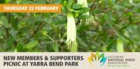 Victorian National Parks Association New Members & Supporters Picnic