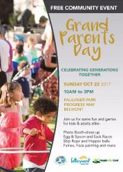 FREE GRANDPARENTS DAY COMMUNITY EVENT