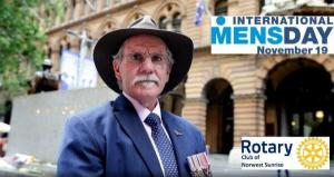 Rotary Norwest Sunrise - International Mens Day with Charlie Lynn OAM