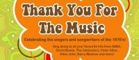 Thank You For The Music Fundraiser