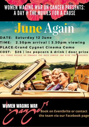 Women Waging War on Cancer: A day at the Movies for a cause