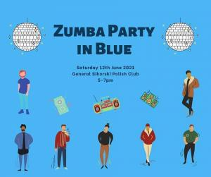 Zumba Party  in Blue