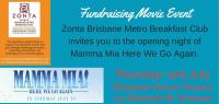 Zonta movie night - Mamma Mia Here We Go Again