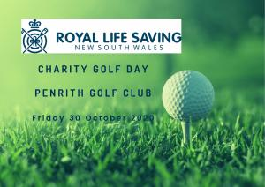 Royal Life Saving NSW Charity Golf Day 2020