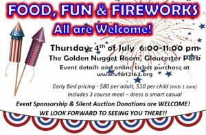 3rd Annual INDEPENDENCE DAY BANQUET