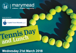Marymead's Tennis Day 2018