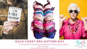 Support The Girls Bra Gifting Day Southport Community Centre