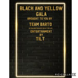 Black and Yellow Gala