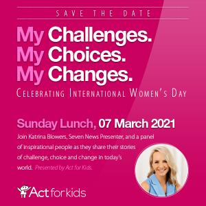Act for Kids: International Womens Day Lunch