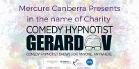 Comedy Hypnotist Gerard V for Chairty