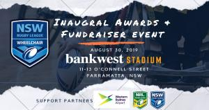 NSW  Wheelchair Rugby League Awards and Fundraiser Night