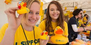 Australia's Biggest Duck Race for Cancer Research