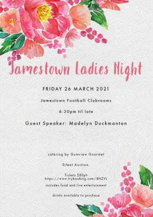 2021 Jamestown Ladies Night Out: Cancer Fundraiser