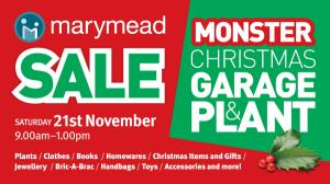MONSTER CHRISTMAS GARAGE & PLANT SALE