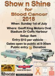 Show n Shine for Blood Cancer 2018