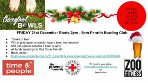 Christmas 2018 Penrith Business Bare Foot Bowls