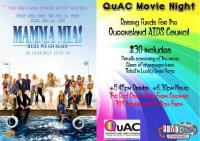 QuAC Movie Night Fundraiser - Mamma Mia! Here We Go Again.