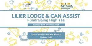 Lilier Lodge & Can Assist Foundation Month High Tea